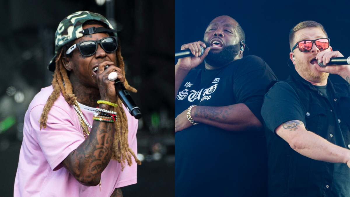 Lil Wayne Continues Guest Feature Run On Run The Jewels' 'Ooh LA LA' Remix