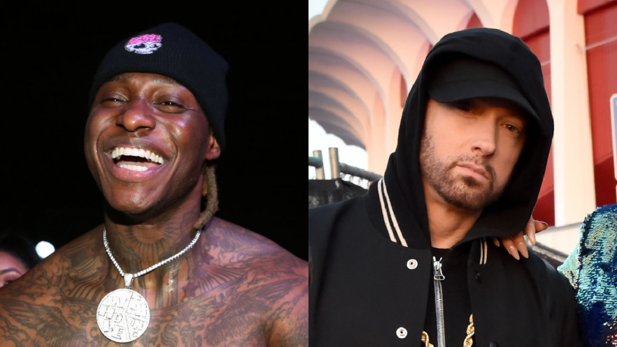 Eminem Collaborator Phresher Sheds Tears Of Joy After Receiving Gold 'Revival' Plaque