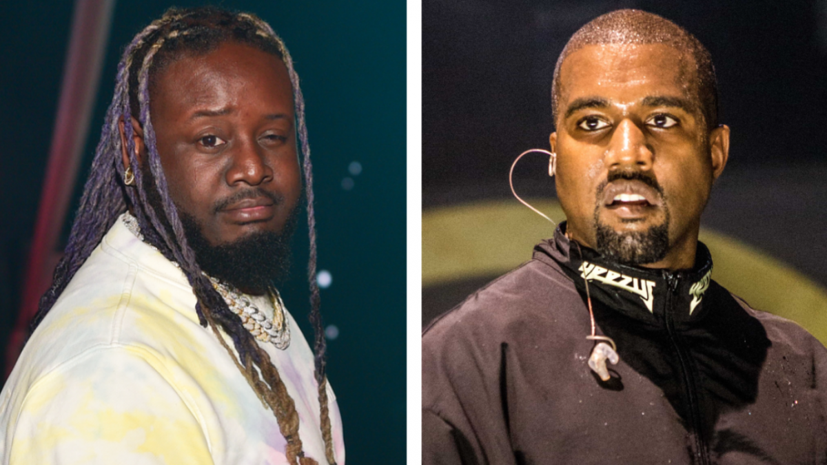 T-Pain Claims Kanye West Stole One Of His Lines — After Telling Him It Was 'Corny'