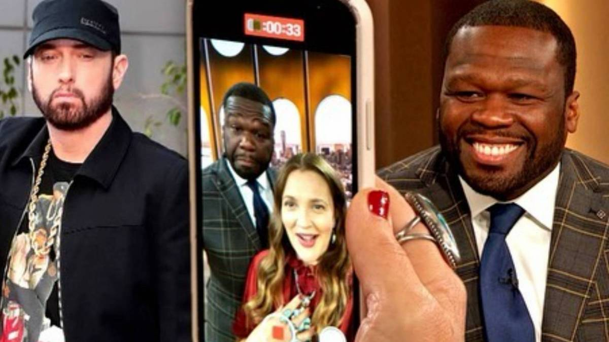 50 Cent Hit Up Eminem Live From 'The Drew Barrymore Show' - Here's What Shady Said