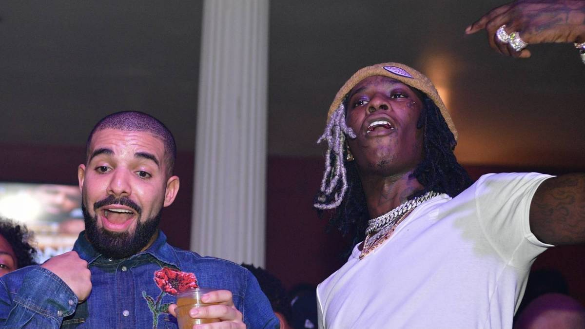 Drake & Young Thug Are In A Tight Race For No. 1 On Billboard 200