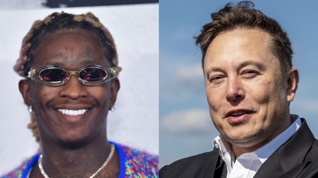 Young Thug Actually Gets Response From Elon Musk Over 'Slime City'