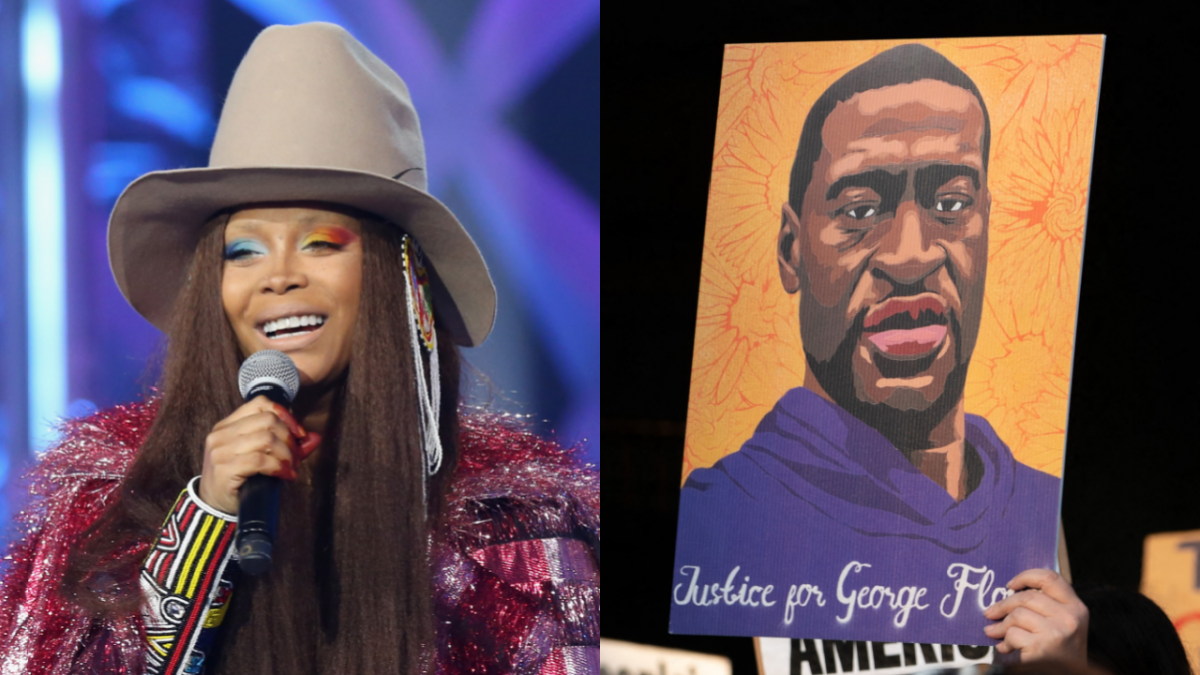 Erykah Badu Celebrates George Floyd's Birthday With His Family: 'Thank You For Your Spirit'