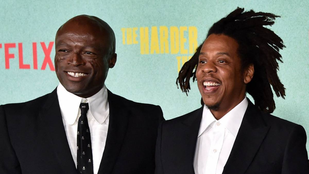 JAY-Z Dusts Off Classic Songs During L.A. Movie Premiere Performance - Featuring Seal