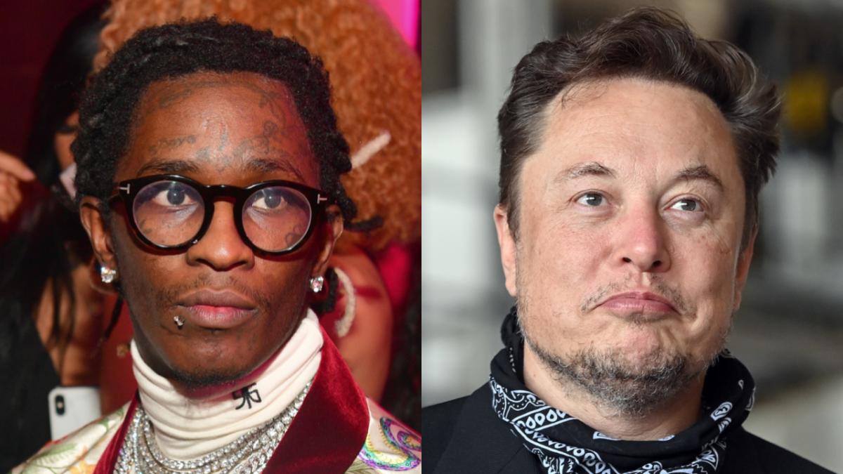 Young Thug Wants Elon Musk To Help Him Build 'Slime City'