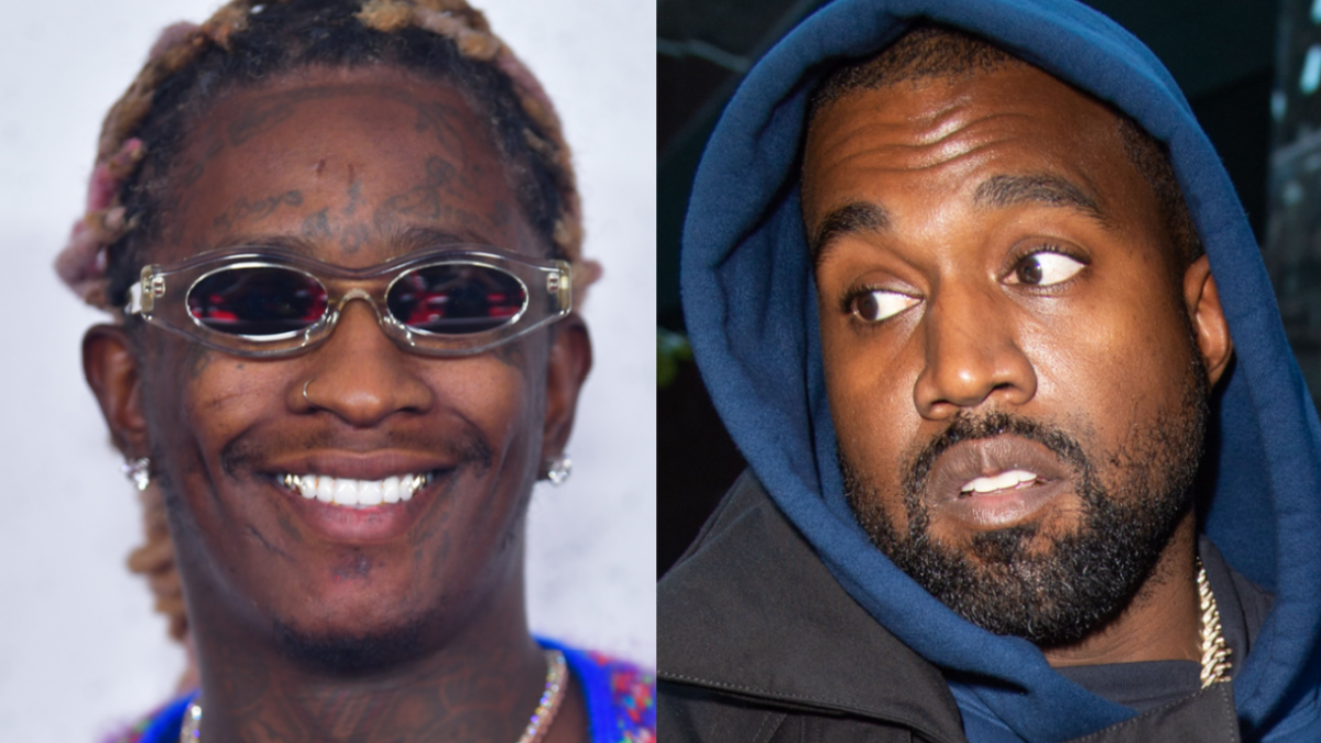Young Thug Threatened To Cut Kanye West Off Over 'Donda' Feature